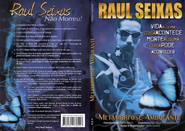 Raul Seixas - Livro + Pôster + CD com FRETE GRÁTIS para todo o Brasil.