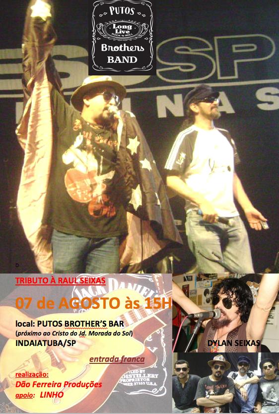 Tributo a Raul Seixas com Putos Brothers Band & Dylan Seixas