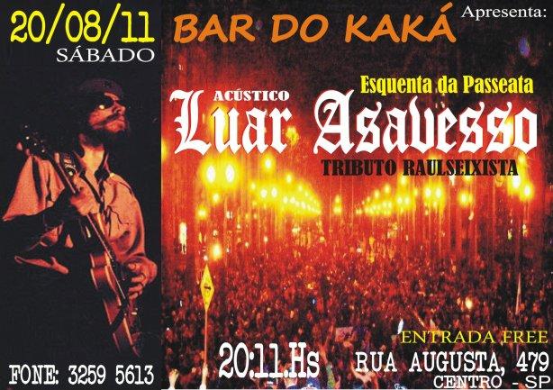 20 Agosto - Bar do Kaká - Rua Augusta - São Paulo