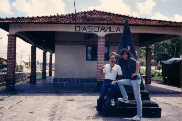 1990 - Sylvio Passos e Thildo Gama em Dias D'avila