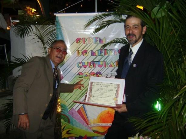 25 de novembro de 2009 - Thildo e Sylvio, Merito Cultural 2009. Villa Riso, São Conrado, Rio.