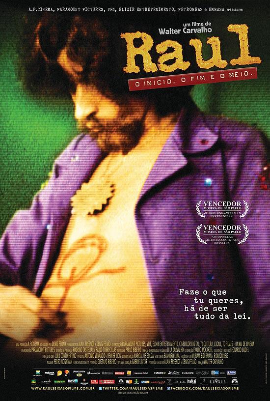 Raul nos cinemas em 23 de março de 2012