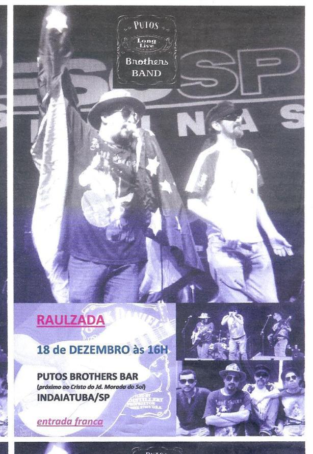 Putos Brothers Band no Putos Brothers Bar