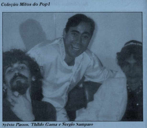 Sylvio, Thildo e Sérgio - Salvador, 1998