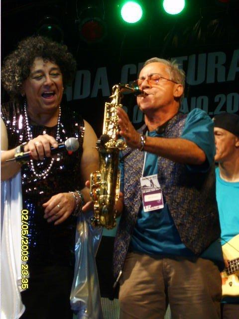 Edy Star e Thildo Gama, Virada Cultural, São Paulo, Maio 2009