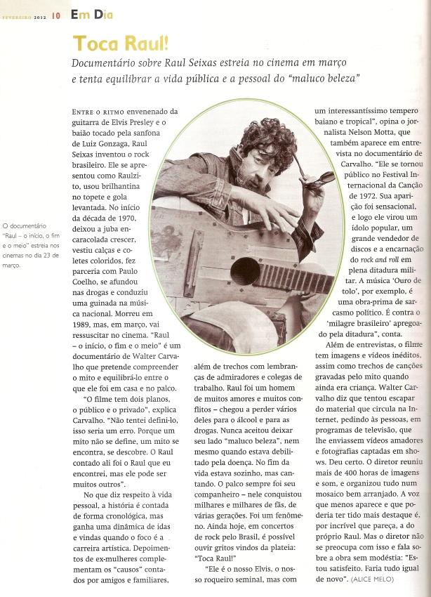 Revista de Historia da Biblioteca Nacional Edição nº 77 Fevereiro 2012