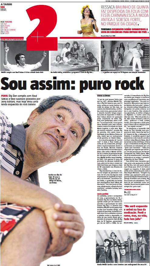 A TARDE: Waldir Serrão: a lenda esquecida do rock