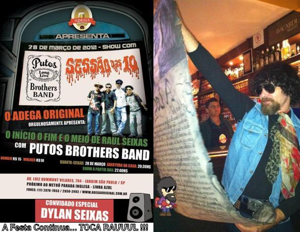 Hoje, Putos Brothers Band no Adega Original com Convidados Especiais