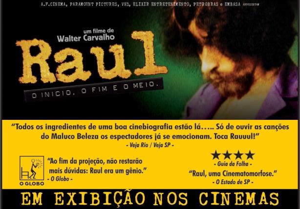 Filme sobre Raul Seixas bem recebido pelo público e pela crítica.