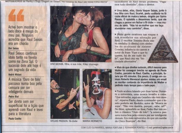 O Globo - 16 de março de 2012