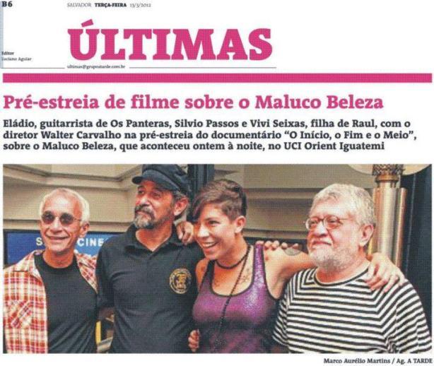 Pré-estreia em Salvador/BA