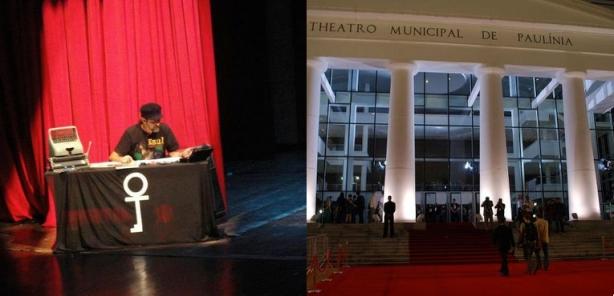 """O espetáculo """"Meu Amigo Raul"""", apresentado em 10 de abril no Theatro Municipal de Paulínia. FOI EMOCIONANTE!"""