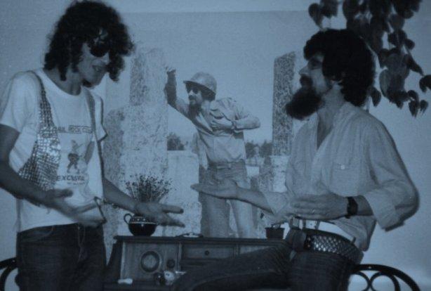 1981 - Primeira visita à casa de Raul Seixas. Macarronada & Blues no Brooklin, São Paulo.