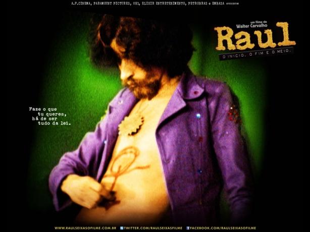 """DVD e Blu-ray """"Raul - O Início, o fim e o meio""""  chegam ao mercado em 21 de agosto."""