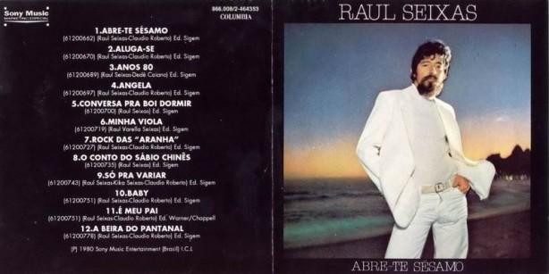 """Celso Blues Boy e Rick Ferreira dividiram as guitarras no álbum """"Abre-te Sésamo"""", de Raul Seixas, lançado em 1980."""