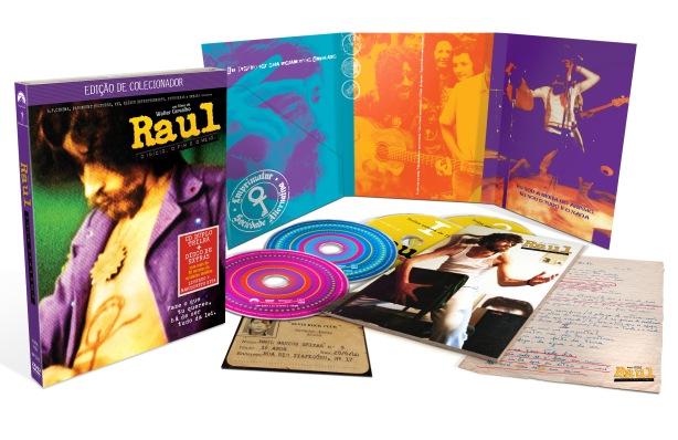 Edição de Colecionador acompanha itens exclusivos do formato com 2 DVDs e 2 CDs.