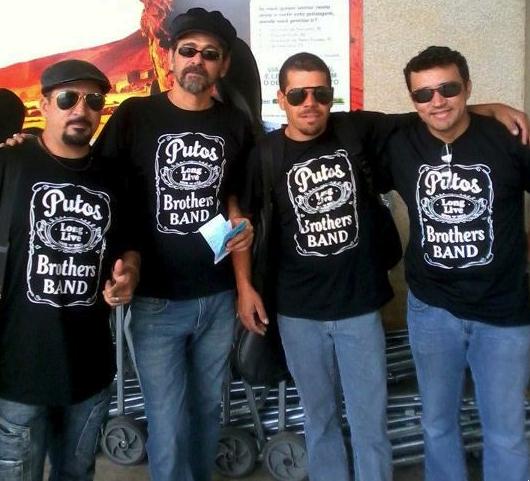 Agnaldo Araújo, Sylvio Passos, Raulzinho e Dri Batera, Putos BRothers Band