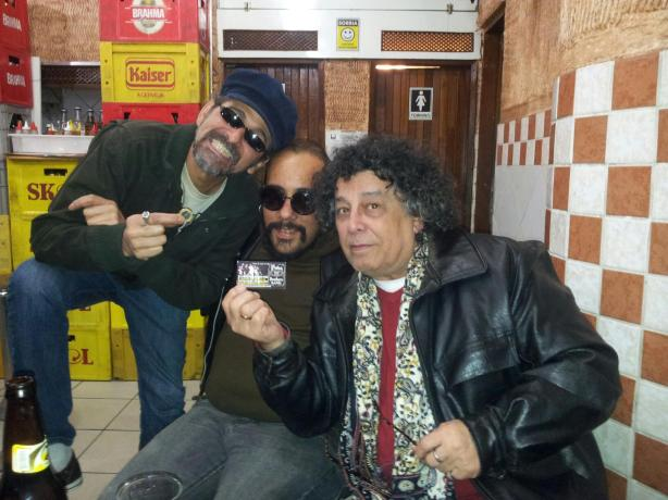 27 Setembro 2012 - Último encontro com Sylvio Passos e Edy Star no centro de São Paulo.