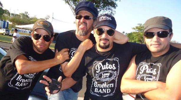 Putos BRothers Band - Raulzinho, Sylvio Passos, Agnaldo Araújo e Dri Batera e sua MPB (Música de Putos BRothers, definição do jornalista Ayrton Mugnaine).