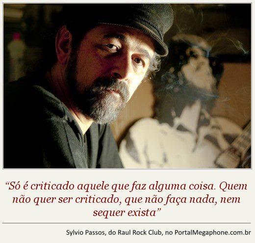 Megaphone|Entrevista: Sylvio Passos, o guardião do Baú do Raul