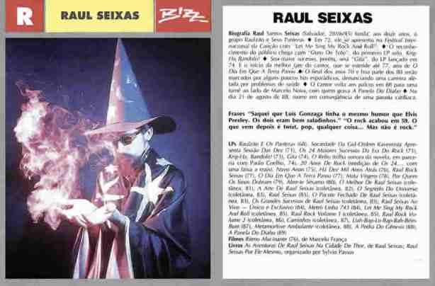 Raul Seixas - Fichas do Rock - Agosto de 1985