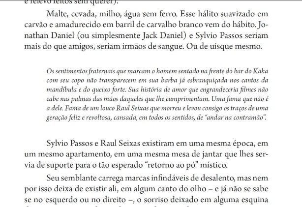 Trecho do livro  Mentes da Contramão – Perfis da Contracultura.