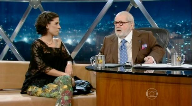 Clique na imagem para assistir a entrevista de Vivi no Programa do Jô.