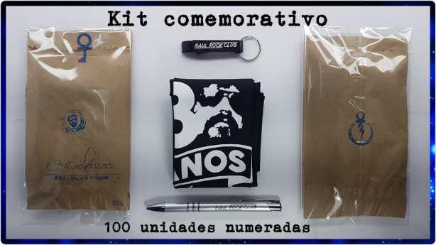 Kit Exclusivo com apenas 100 unidades numeradas